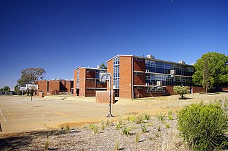 Mount Austin, New South Wales - Image: Mount Austin High School buildings