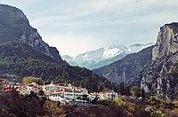 Mount Olympus from Litochoro.jpg