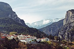 Mount Olympus from Litochoro.jpg