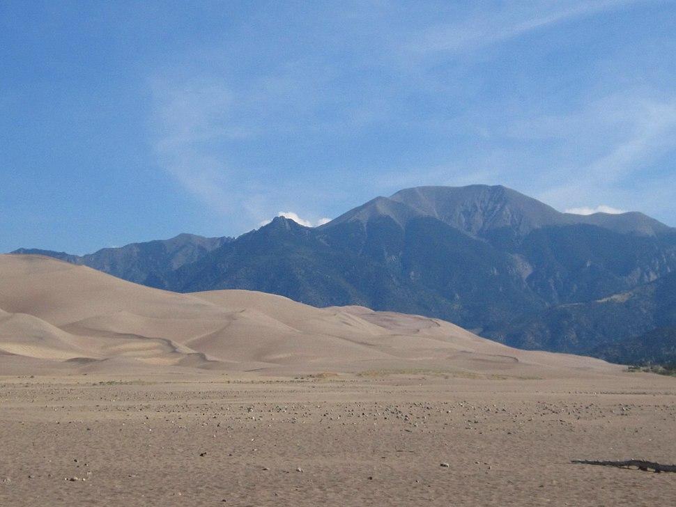 Mt Herard sand