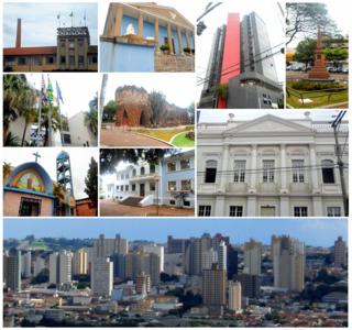 Limeira Municipality in Southeast, Brazil