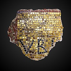 Fragment de mosaïque murale