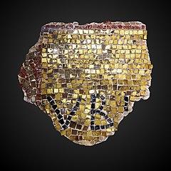 Mural mosaic fragment