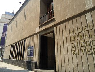 Museo Mural Diego Rivera - Museum's entrance