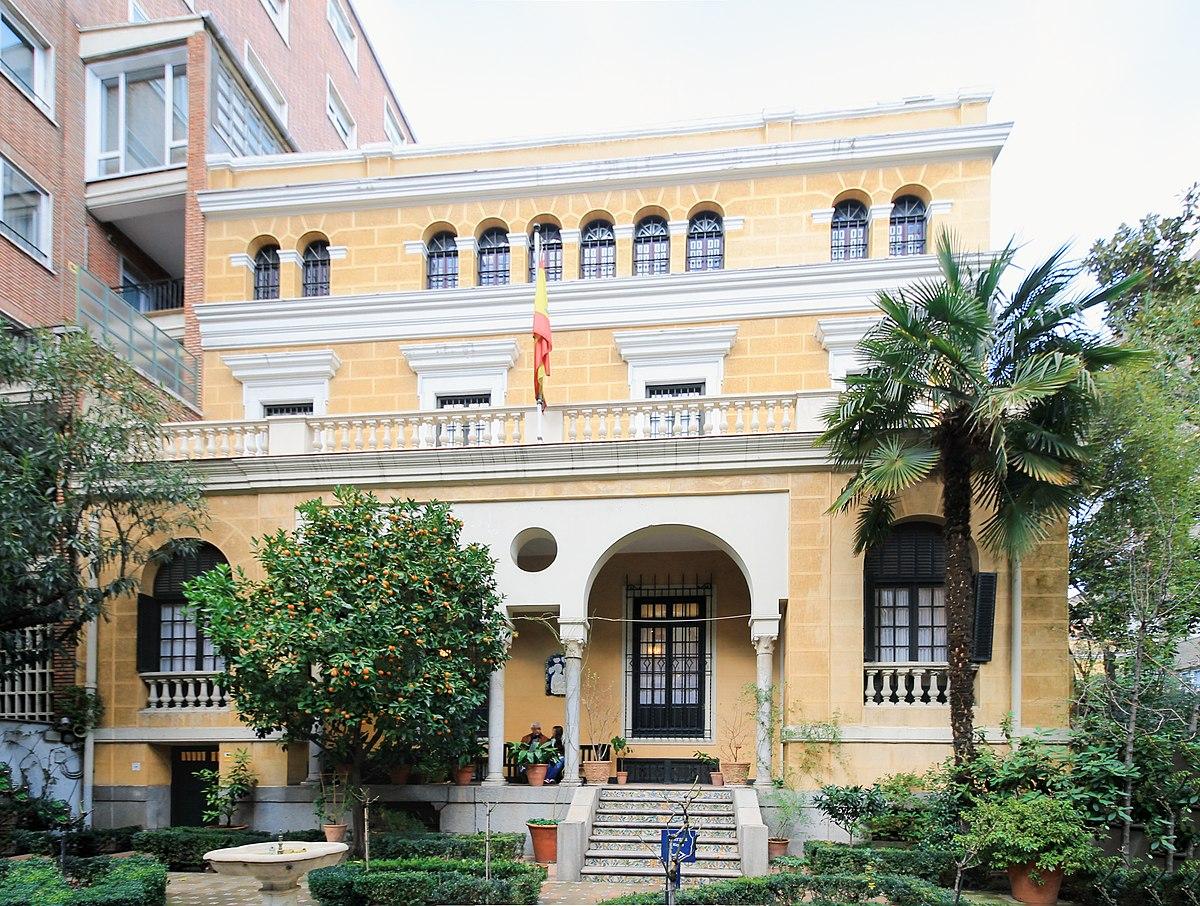 Museo sorolla wikipedia la enciclopedia libre for Casa y jardin madrid