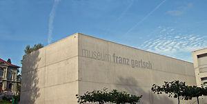 Franz Gertsch - Image: Museum Franz Gertsch neu