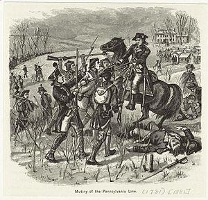 Pennsylvania Line mutiny - Mutiny of the Pennsylvania Line