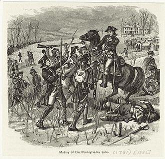 Temperance Wick - Pennsylvania Line Mutiny