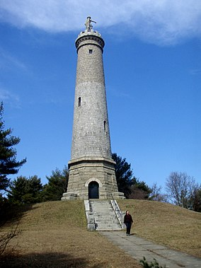 Myles Standish monument in Duxbury, Mass.jpg