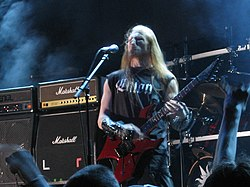 "Thor Anders ""Destructhor"" Myhren auf dem Inferno Metal Festival Norway (2006)"