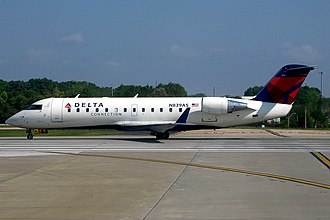 ExpressJet - Delta Connection Bombardier CRJ-200 operated by ExpressJet at Atlanta
