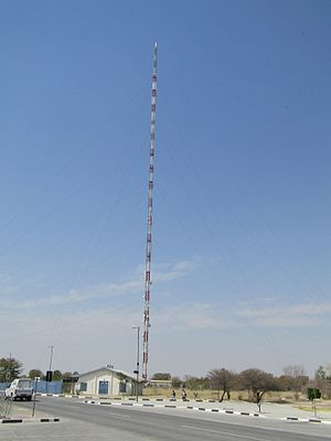 Oshakati - Broadcasting tower (275 Meter high) in Oshakati