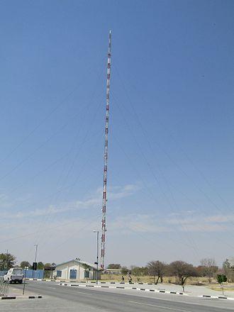 Oshakati - Broadcasting tower (275 Meter high) in Oshakati