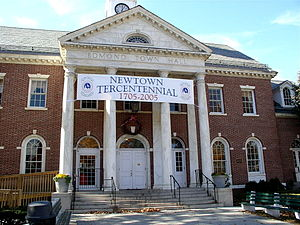 Newtown, Connecticut - Edmond Town Hall
