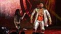 NXT Champ Andrade Cien Almas & Zelina Vega TakeOver NOLA crop.jpg