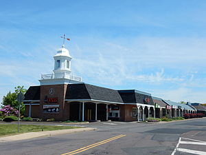 Dublin, Pennsylvania - Dublin Village Shopping Center.