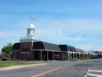 Dublin, Pennsylvania - Dublin Village Shopping Center.