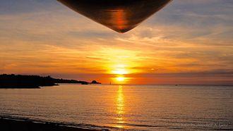 Onna, Okinawa - Nakadomari, Onna-son Sunset - OKINAWA SUP Stand Up Paddleboard Session