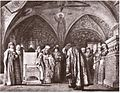 Naming of tsar's bride by V.Schwarz (1868).jpg