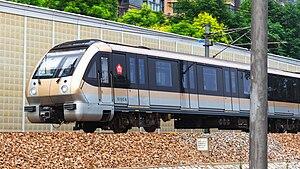 Line 10, Nanjing Metro - Image: Nanjing Metro Line 10 Train(No.013014)