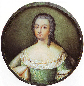 Feminism in Russia - Portrait of Princess Natalia Sheremeteva, first female Russian autobiographer and one of the Decembrist women
