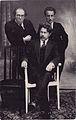 Nathan Goren, Shaul Tchernichovsky & Cemach Feldstein in Kaunas ca. 1927 II.jpg