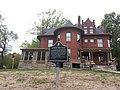 Nathaniel Burt House with Historical Plaque, Leavenworth, Kansas.jpg