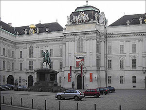 Kaiserlichen Court Library (Hofbibliothek) in ...