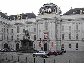 Joseph Emanuel Fischer von Erlach -  Kaiserlichen Court Library (Hofbibliothek) in Vienna