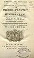 Natuurlyke historie, of, Uitvoerige beschryving der dieren, planten, en mineraalen -volgens het samenstel van den Heer Linnaeus. Met naauwkeurige afbeeldingen. (IA mobot31753002820428).pdf