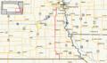 Nebraska Highway 50 map.png
