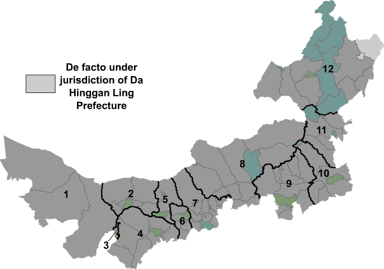 Nei Mongol prfc map
