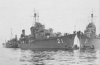 Japanese destroyer <i>Nenohi</i> (1932) Hatsuharu-class destroyer