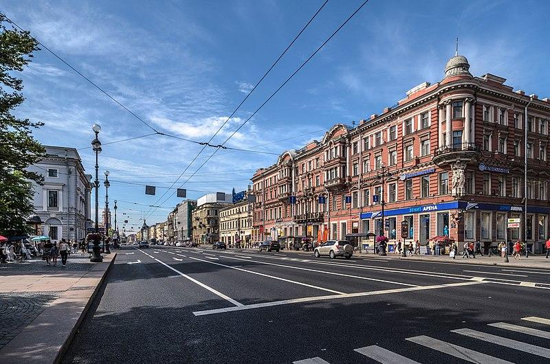 Roteiro a pé por São Petersburgo