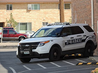 Connell, Washington - Connell Police Department vehicle