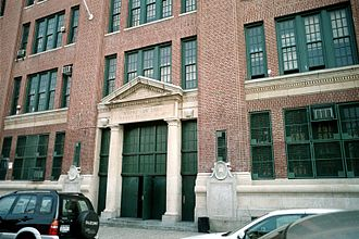 New Utrecht High School - Image: New Utrecht High School 2003 (2)