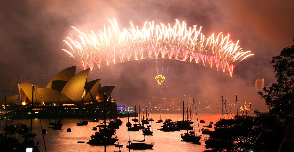 New Year%27s Eve on Sydney Harbour