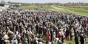 Newbury Racecourse - Crowds at Newbury