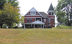 Elm Hill, the home of Ben Hooper's father-in-law, B.D. Jones