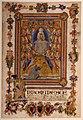Niccolò di ser sozzo, assunta e s. ansano in iniziale I, dal caleffo bianco o dell'assunta, 1340 ca. (siena, archivio di stato).jpg