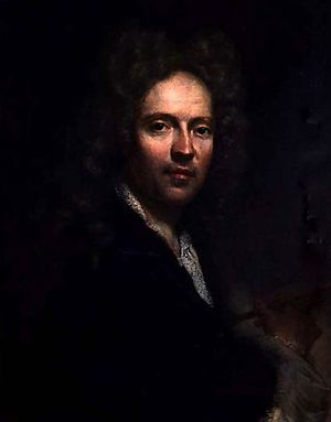 Niccolò Cassana - Self portrait of Niccolò Cassana, ca. 1695.