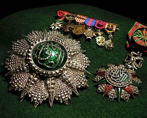 Order of Glory (Tunisia) - Grand cross, miniature, and officer class