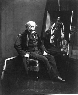 Nicolaas Pieneman - Nicolaas Pieneman in 1859
