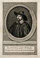 Nicolaus Tulp (Tulpius). Line engraving by J. Houbraken afte Wellcome V0005925.jpg