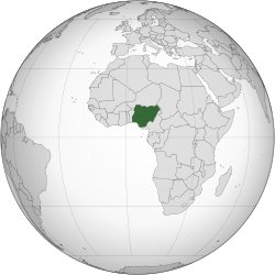 Nigeria (orthographic projection).svg