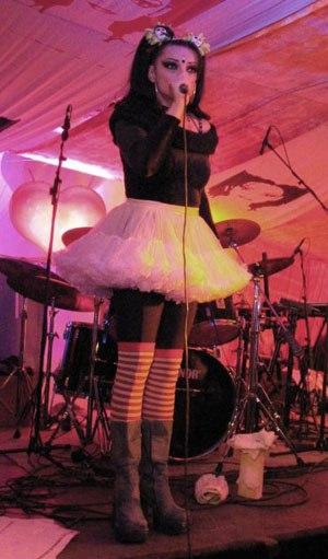 Nina Hagen discography - Nina Hagen performing in Aalborg, Denmark (October 2003).