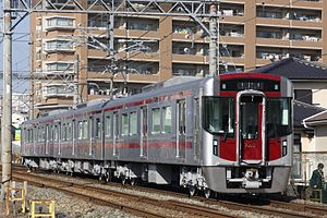 Nishitetsu Tenjin Ōmuta Line - Image: Nnr 9002f
