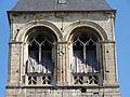 Nointel (60), église Saint-Vaast, clocher, étage de beffroi 2.JPG