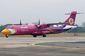 Nok Air - Nok Air ATR 72-200, Chiang Mai International Airport.
