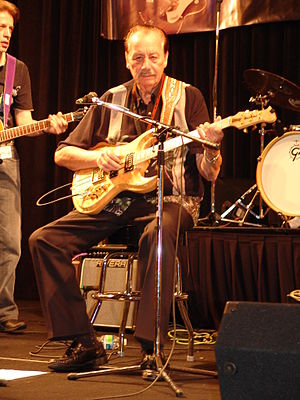 "The Ventures - Nole ""Nokie"" Edwards in 2009 in Nashville at the Chet Atkins Appreciation Society."